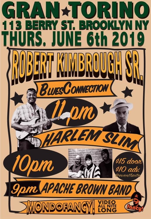 Robert Kimbrough Sr. BluesConnection