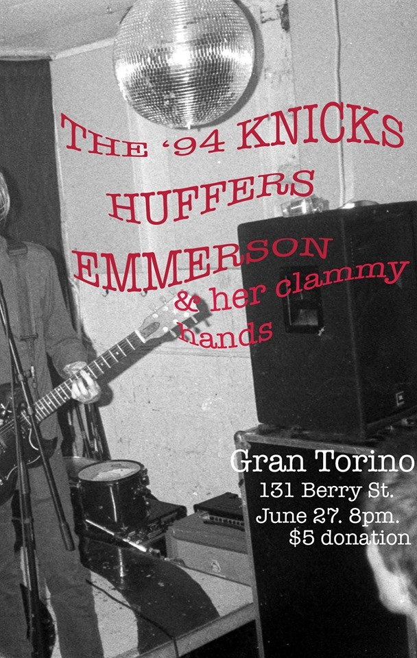 Huffers host  The 94 Knicks, Emerson and her clammy hands + The Huffers