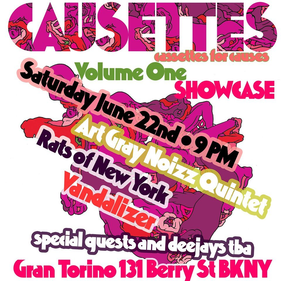 Causettes volume 1 release party