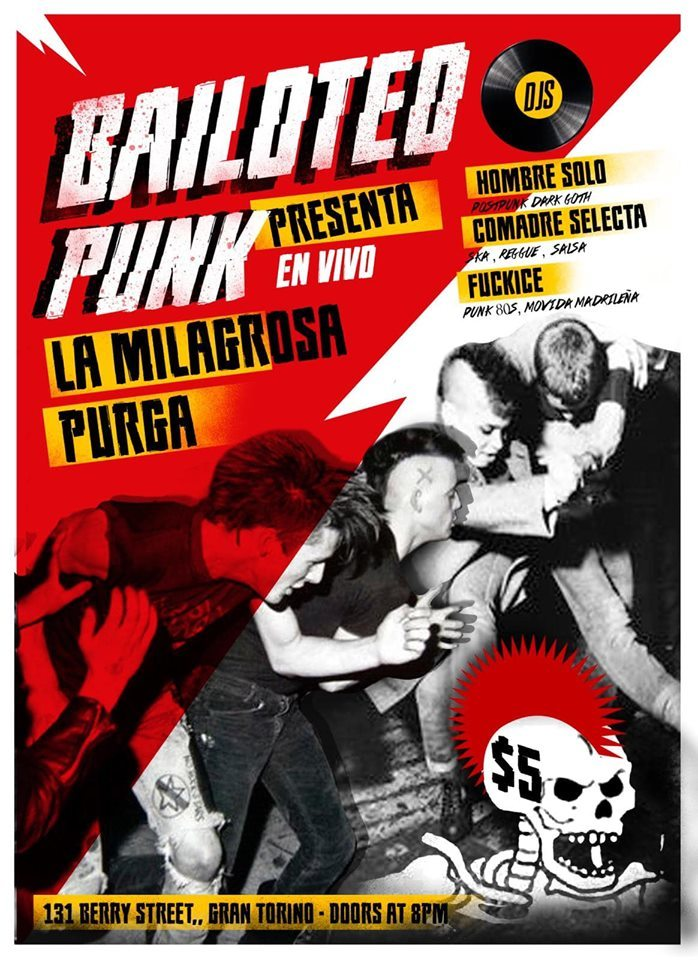 Bailoted Punk Presenta en vivo